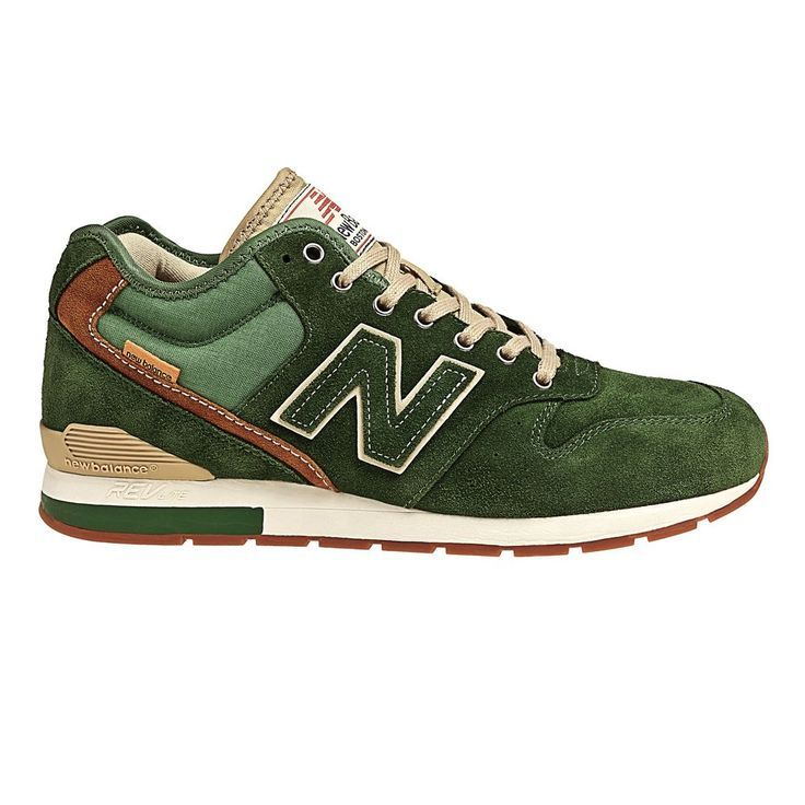 New Balance 996 - Green (that is one handsome sneaker)