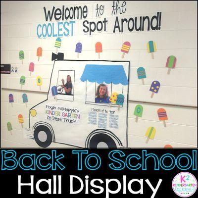 Hallway Displays for BACK TO SCHOOL!