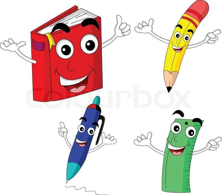 """Képtalálat a következőre: """"pencil, ruler, book, pen"""""""