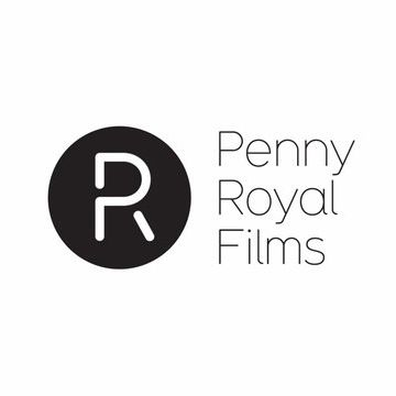 Logotype and contemporary monogram designed by Alphabetical for Penny Royal Films