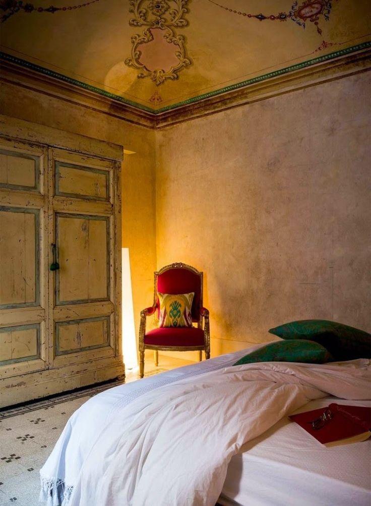 Eclecticismo en un palacio italiano