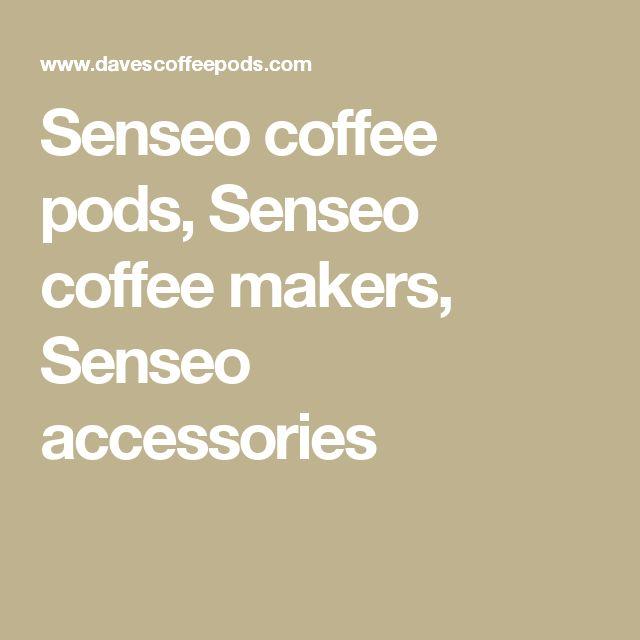 Senseo coffee pods, Senseo coffee makers, Senseo accessories