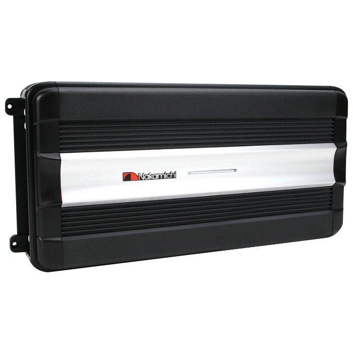 Amplificador Nakamichi PM-360.4 2200w Max Clase A/B 4-Canales