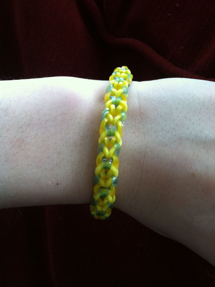 loom bands fishtail instructions with fingers