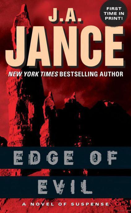 J.a. Jance Novels Jance - Edge Of...
