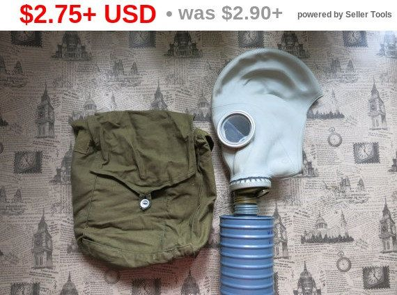 Soviet Russian Gas Mask Made in USSR size 2 от AllForHappyAndLoveV