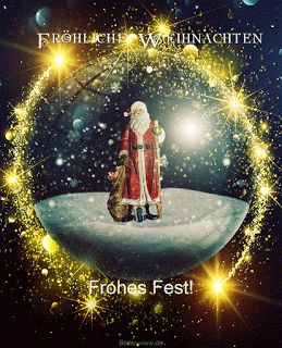 Bewegte Bilder frohe Weihnachten  ~  Zum Download und Vergrößern bitte Vorscha… – Andreas