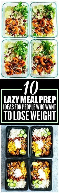 These 10 weekly meal prep ideas are THE BEST! I'm so happy I found these AMAZING ideas! These meal prep for the week recipes look so good! And they're healthy! Definitely pinning!