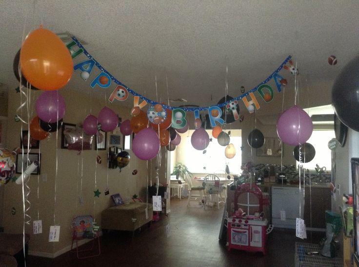Husbands birthday surprise