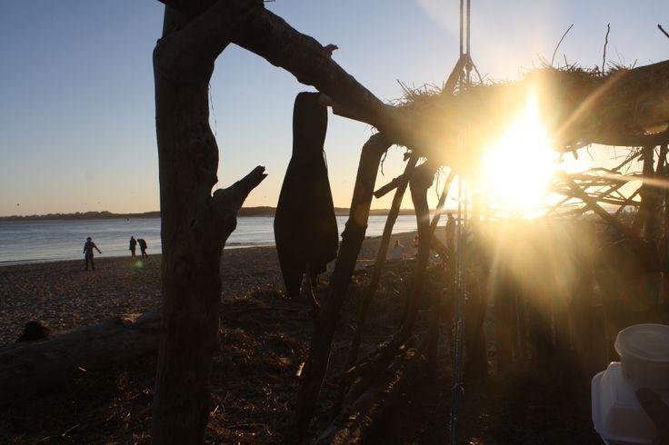 Beach Fort!  http://phourfriend-haley.deviantart.com/