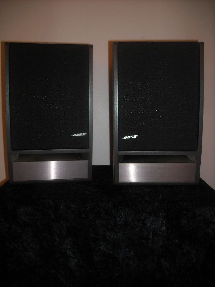 47 best bose images on pinterest bose speakers and music speakers pair of bose model 141 bookshelf speakers bose sciox Gallery