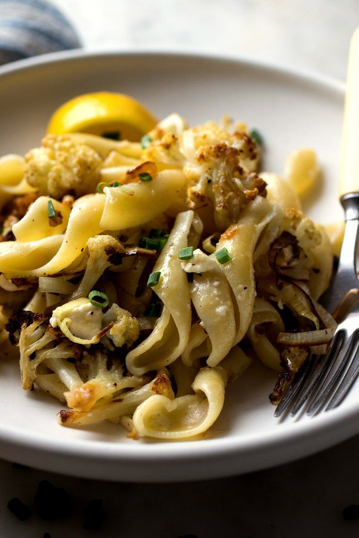 When creamy Gorgonzola dolce hits a pot full of hot pasta, it melts into a rich and complex sauce without your having to do much more than stir Here, the pasta and sauce are tossed with roasted cauliflower and caramelized, browned leeks It's comfort food, but with a blue-cheese bite.