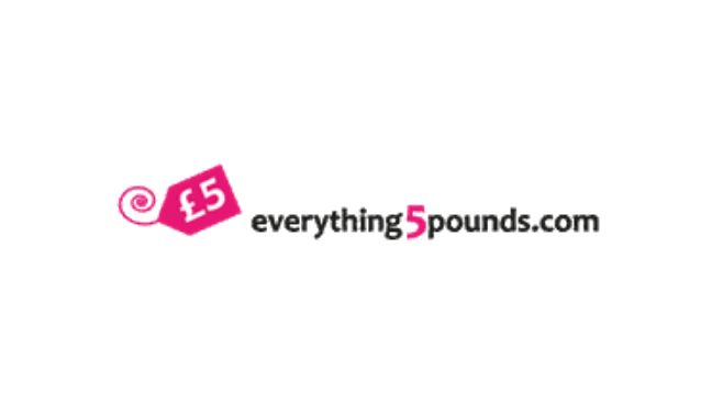 Everything 5 Pounds Discount Voucher Code and Promo Codes