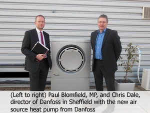 Heat pump manufacturer Danfoss is calling upon the support of MPs to help the country avoid an energy crisis