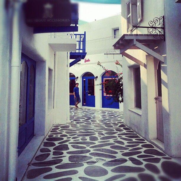 Greece house.