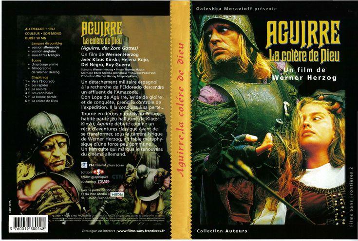 Jaquette DVD Aguirre la colere de dieu