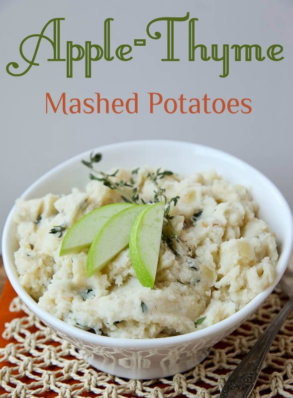 Apple and Thyme Mashed Potatoes