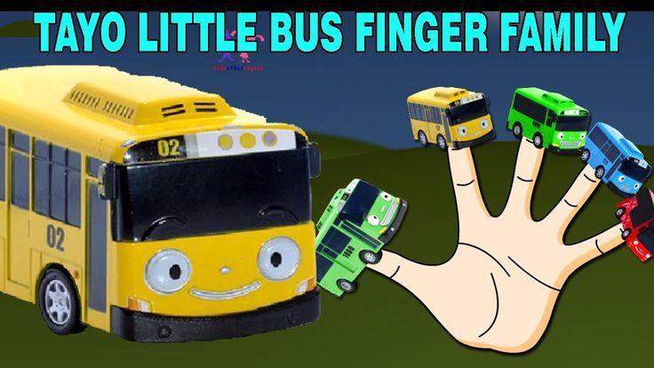 Tayo Little Bus Finger Family Nursery Rhymes for Children | Cartoon Anim...