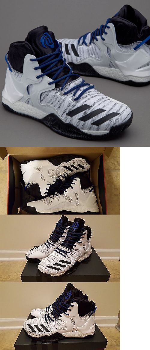 Mixed Items and Lots 63850: New Adidas D Rose 7 Prime Knit Boost White Black Royal Men S Size 10 Cavs -> BUY IT NOW ONLY: $79.99 on eBay!