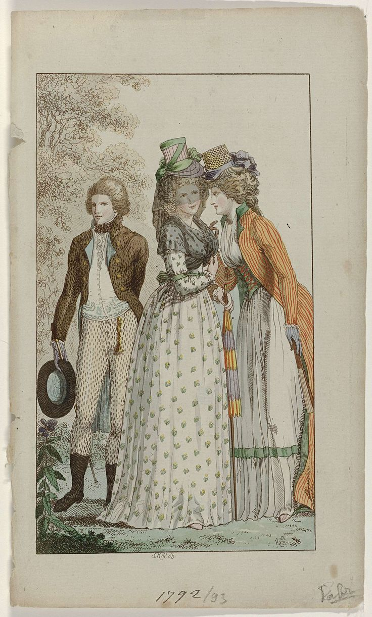 Journal des Luxus und der Moden, 1792-1793, Svk No. 65, Georg Melchior Kraus, 1792 - 1793
