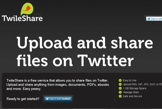 Share files in Twitter: Smashingapp Com, Coolest App