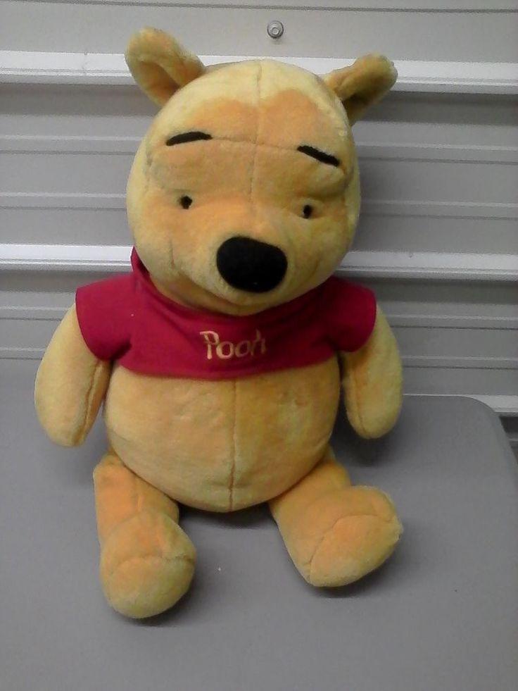 Talking Winnie the Pooh Giant Plush Bear Stuffed Bear Disney Christmas Gift! #Unbranded