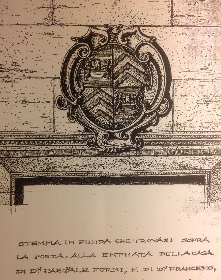 STEMMA FORNI DI MILANO ( IN ARCHIV. STORICO CIVICO DI MILANO - FONDO FAMIGLIE : CART. 678 )