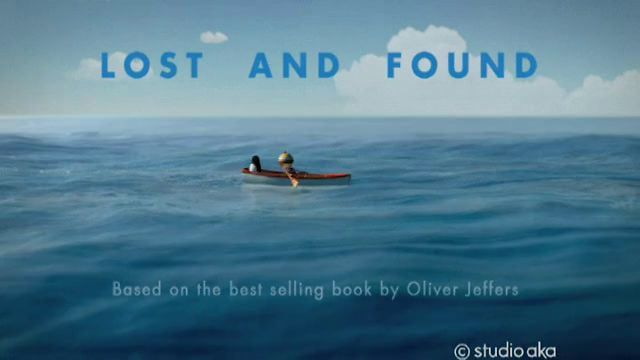 Based on Lost & Found by Oliver Jeffers animated by Studio AKA