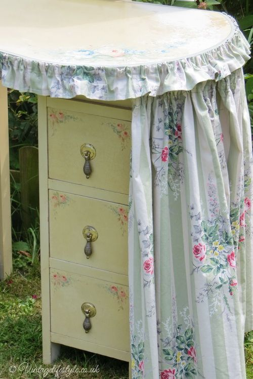 Fabric Dressing Table ~ Best images about dressing tables vanities on
