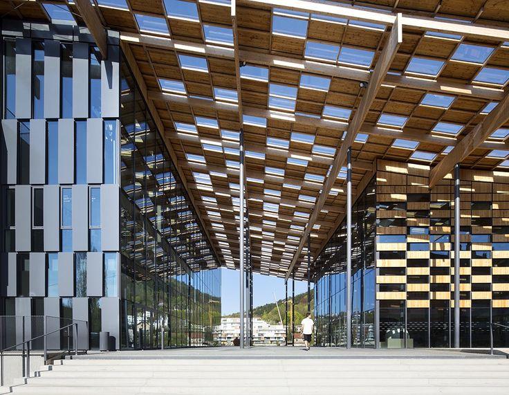 Besançon Art Center and Cité de la Musique KENGO KUMA & ASSOCIATES