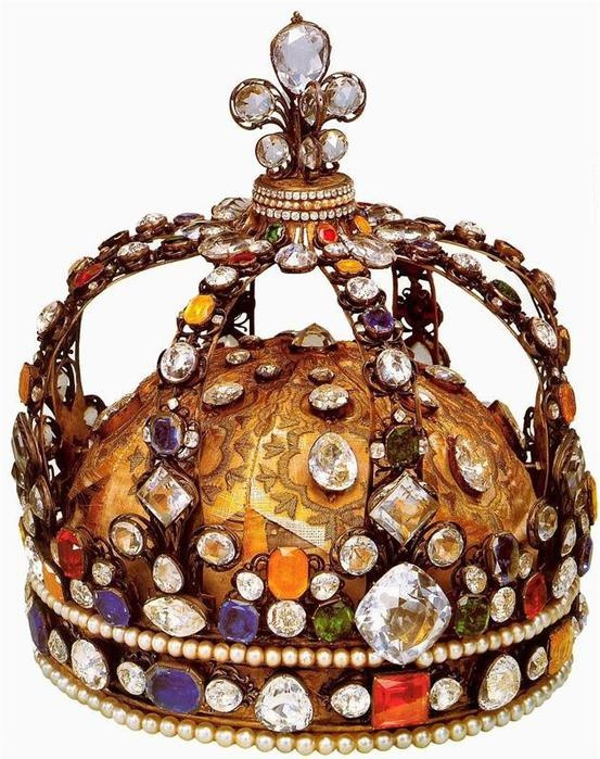 A crown of Louis XIV, The King of France