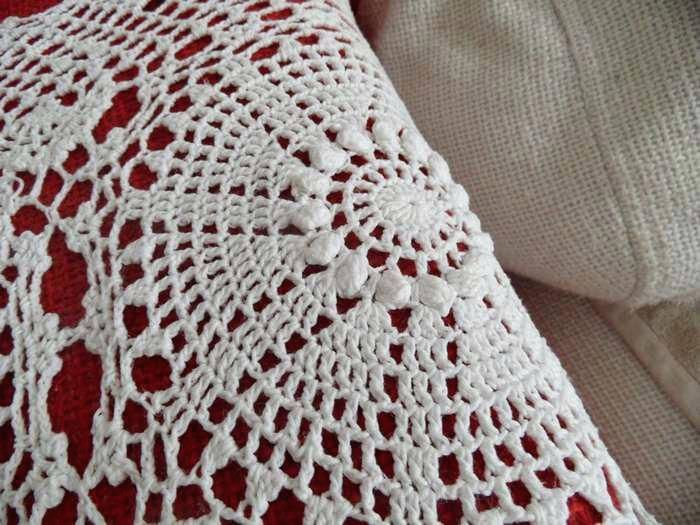 Crochet Armchair Covers Free Sofa Cover Patterns Net