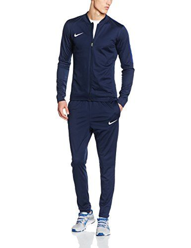 Discounted NIKE Men s Academy 16 Knit Tracksuit (M, Dark Blue)   676556321144  808757-451  808757-451  DarkBlue  DarkBlue)  Medium  NIKE ... df19521464e