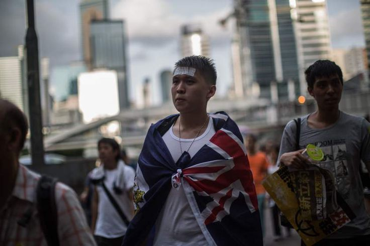The flag of colonial Hong Kong has become a potent political symbol in recent years, expressing not so much a love of Britain but a straightforward opposition to China, the Communist Party and everything it stands for.