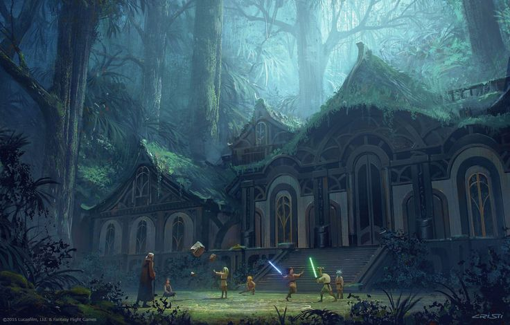 Hidden Sanctuary, Cristi Balanescu on ArtStation at https://www.artstation.com/artwork/PON23