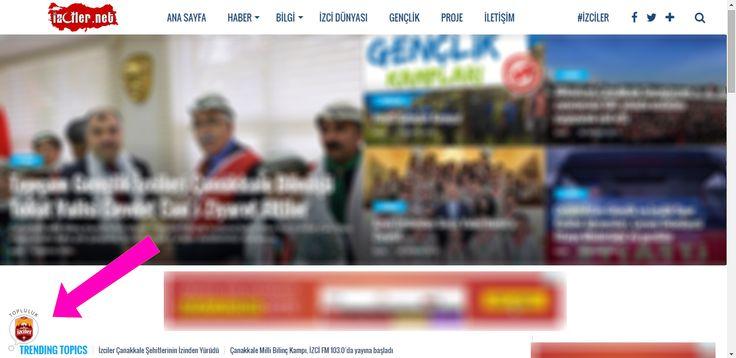 www.izciler.net sitemizin her sayfasının sol alt köşesinde bulunan TOPLULUK baloncuğuna tıklayarak, bize katılın. Paylaşmak istediklerinizi bizlerle ve diğer izcilerle paylaşın! B E K L İ Y O R U Z...