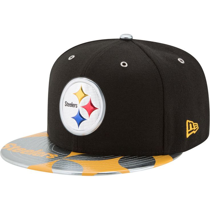 Pittsburgh Steelers New Era 2017 NFL Draft Spotlight 59FIFTY Fitted Hat - Black
