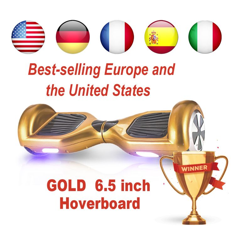 6.5 inch 2 wheel skateboard hoverboard scooter balance with kids electric scooter Hooverboard with Bluetooth in USA warehouse