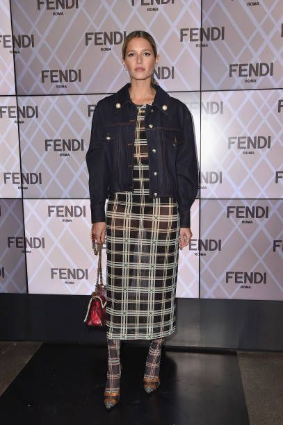 37f3966238f7 Helena Bordon attends the Fendi show during Milan Fashion Week Fall Winter  2018 19 on February 22 2018 in Milan Italy