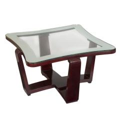 Sculptural Italian Coffee Table