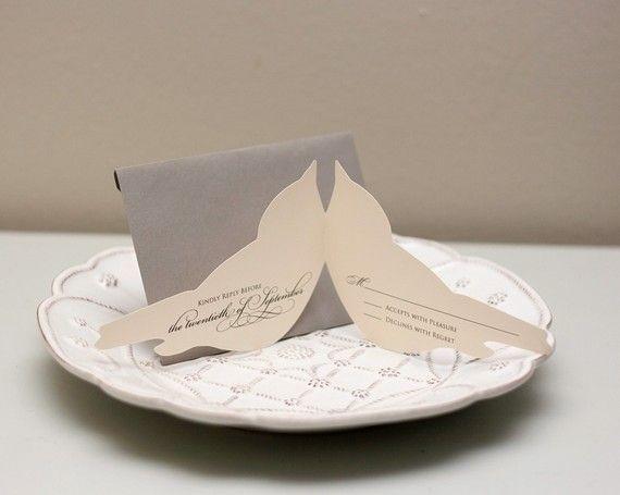 33 best lovebird tema images on pinterest love birds wedding love these bird silhouette wedding invitations junglespirit Choice Image