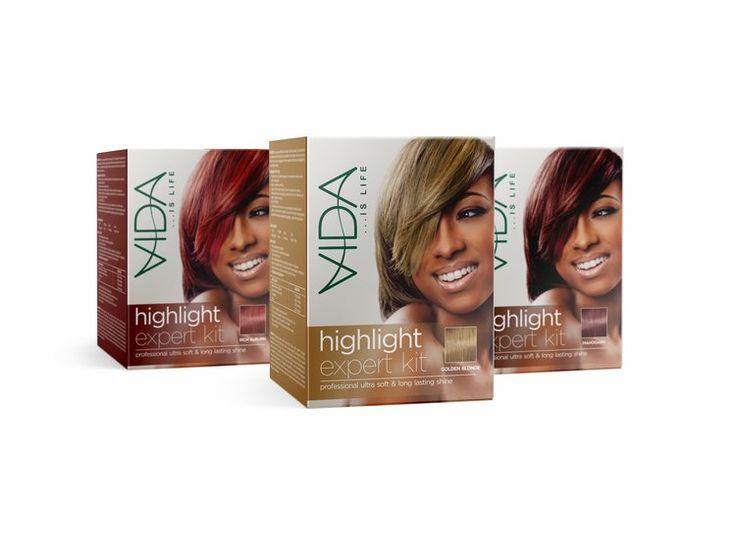 Hair Colour Packaging
