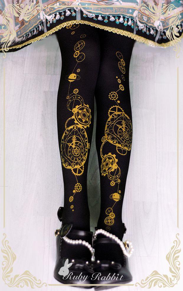 Restocked: [-☪-~The Astrologer's Universe~ Lolita Tights-★-] >>> http://www.my-lolita-dress.com/ruby-rabbit-the-astrologer-s-universe-lolita-tights-rr-6 [✈Fast Ship✈]