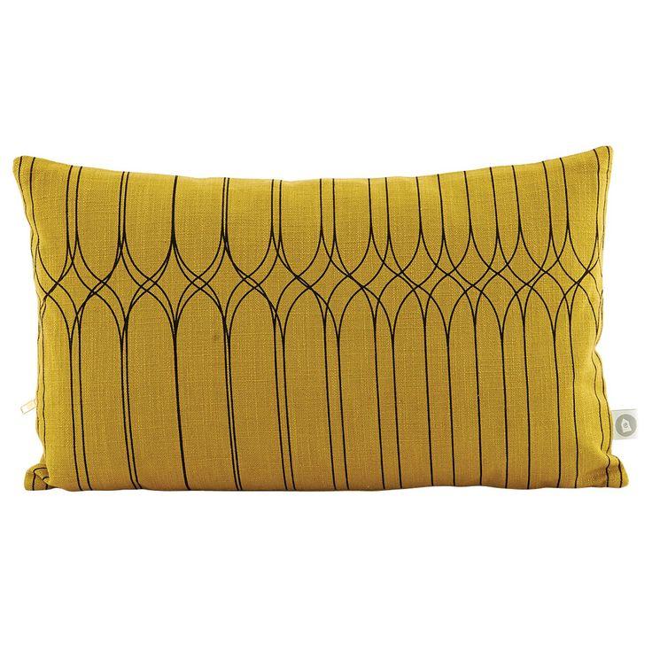 Graphic tyynynpäällinen, oliivi ryhmässä Tekstiilit / Viltit & Koristetyynyt @ ROOM21.fi (129112)
