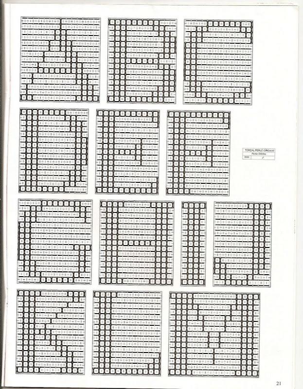 Gráfico de alfabeto em ponto Oitinho.