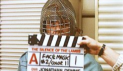 Mask tests for The Silence of the Lambs.