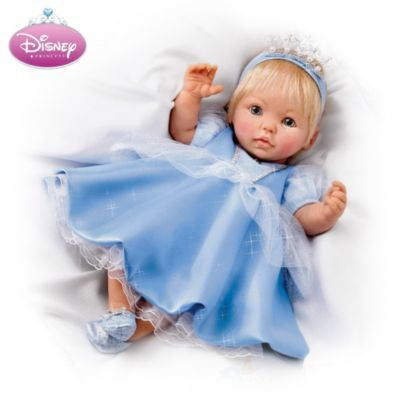Musical Movable Cinderella Baby Doll Plays Quot A Dream Is A