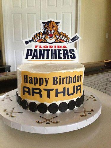florida panthers birthday cake
