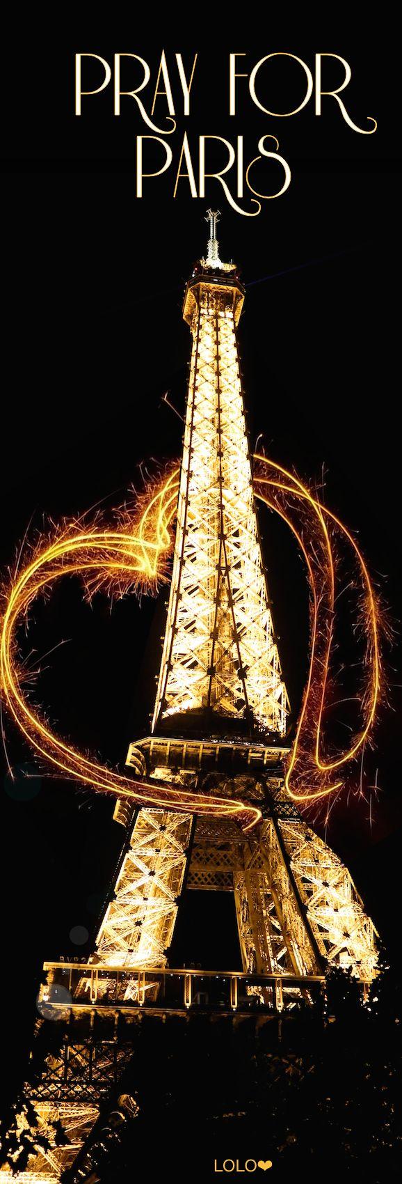 Pray for Paris   LOLO❤︎