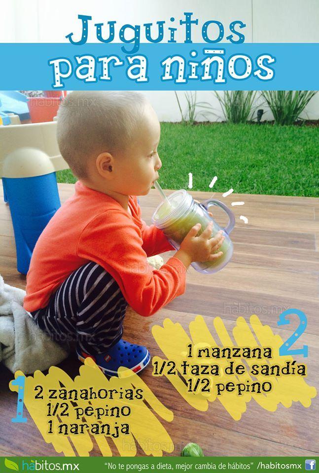 Juguitos para niños. De Habitos.mx